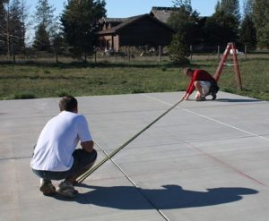 Measure diagonally
