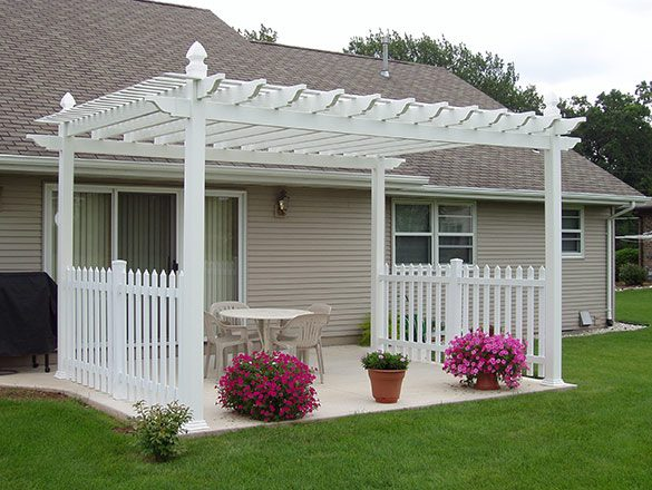 Ideal Plants for Vinyl Pergola Kits
